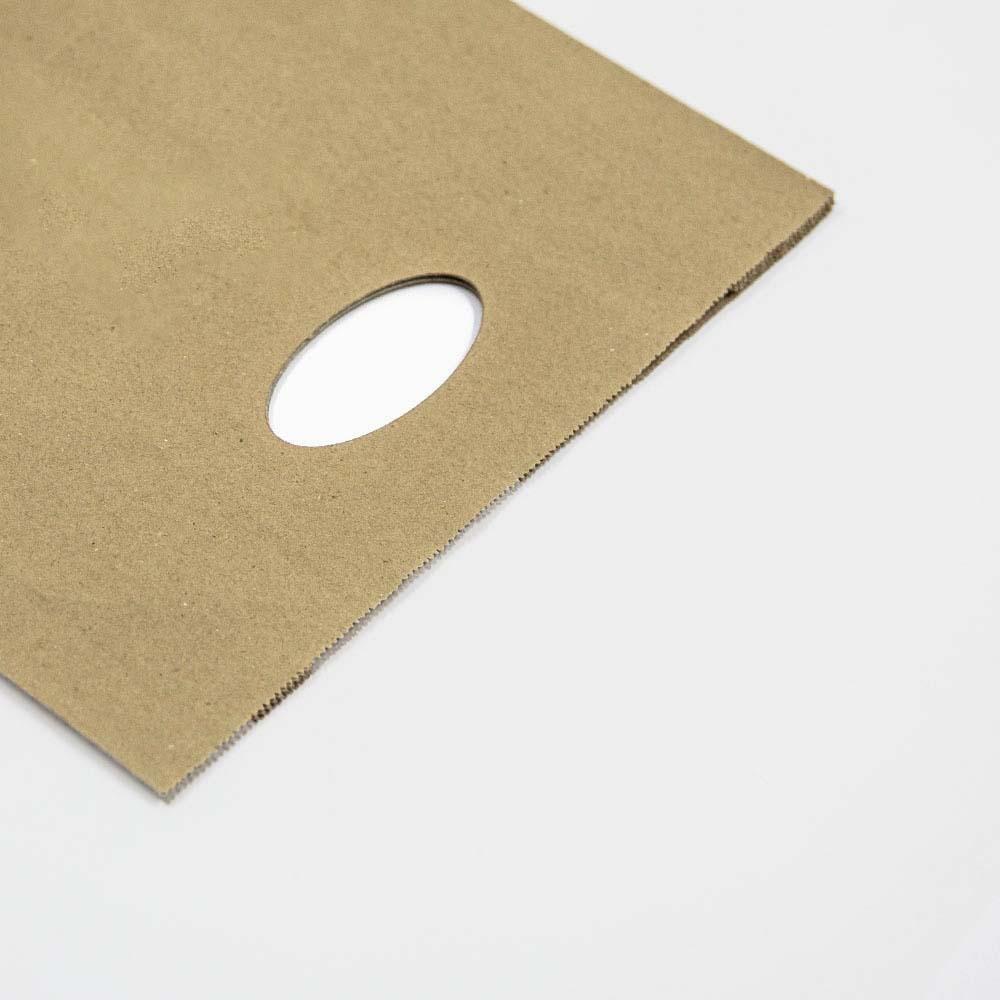 Poignées découpées pour sacs en papier kraft - HDPK