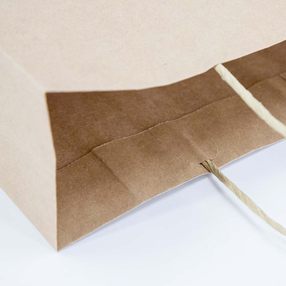 Glued Paper Lacing for grocery paper bag - HDPK