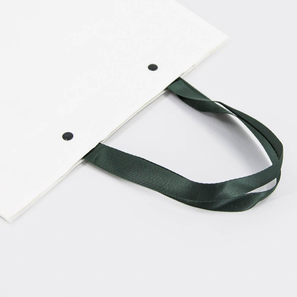 Grosgrain Polyester Handles for Kraft Paper Bags - HDPK