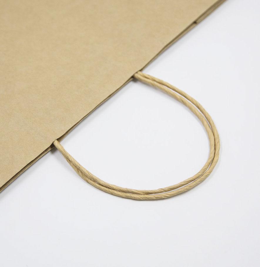 Poignées en papier torsadées pour sacs en papier écologiques - HDPK
