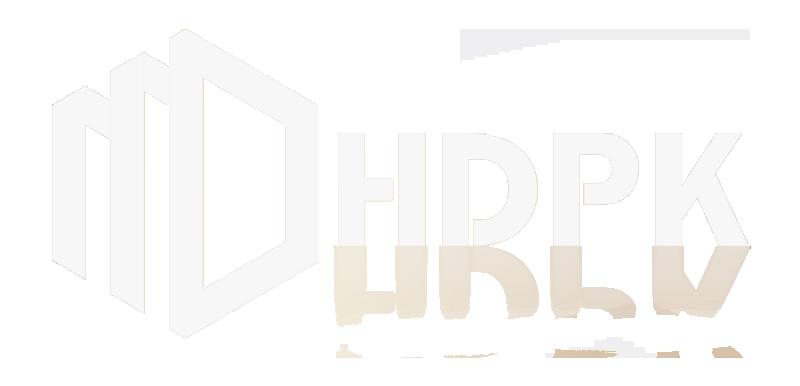 HDPK أبيض الشعار